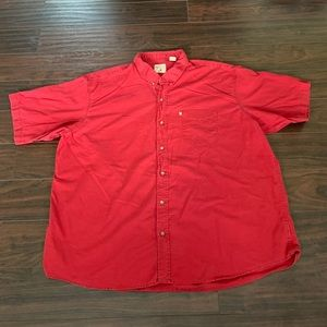 Red Head Brand Co button down shirt sleeve 3XL